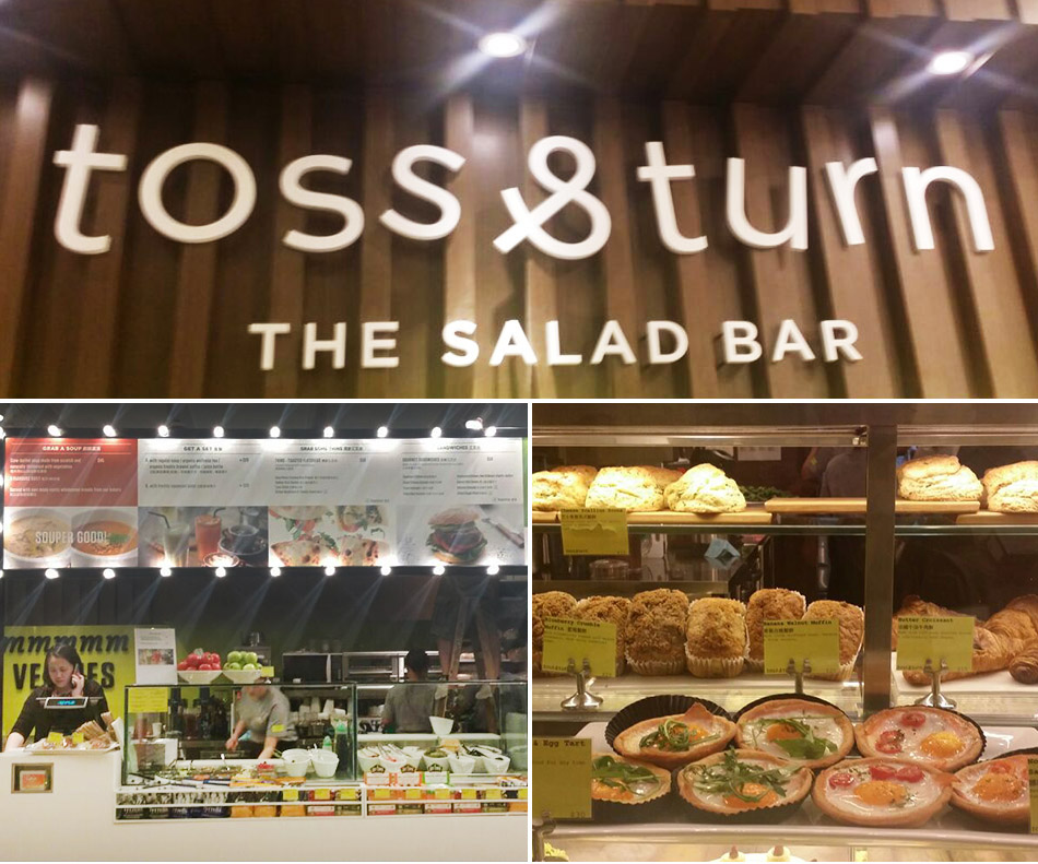 Congratulations to Toss & Turn The Salad Bar@Cedele Wan Chai Three Pacific Place opening